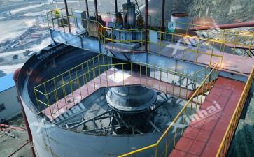 铁矿选矿浓缩机在项目案例中的应用